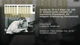 Sonata No. 30 in E Major, Op. 109: III. Andante molto cantabile ed espressivo (Gesangvoll, mit...