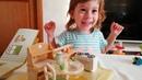 Распаковка детской кухни Играем вместе с детьми мебель для зайчиков sylvanian families