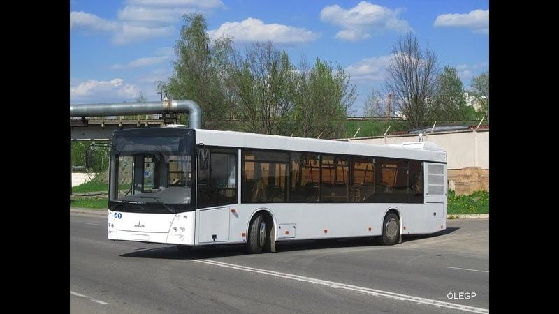 Автобус Минска МАЗ-203,гос.№ АС 3182-7,марш.95 (26.02.2019)