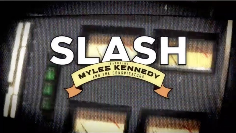 Slash ft. Myles Kennedy The Conspirators - Living The Dream Tour 2018