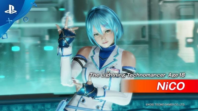 Dead Or Alive 6 - The Lightning Technomancer | PS4