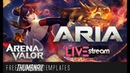 [Live Stream] Arena of Valor Thumbnail Template