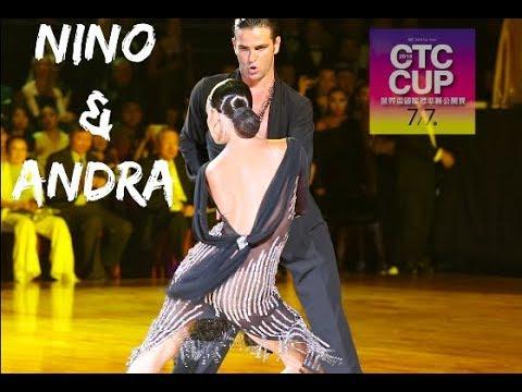 Nino Langella - Andra Vaidilaite (ITA) CTC Cup 2018 WDC Pro Cha Cha Dance On