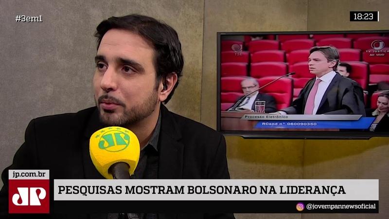 Pesquisas mostram Bolsonaro na liderança