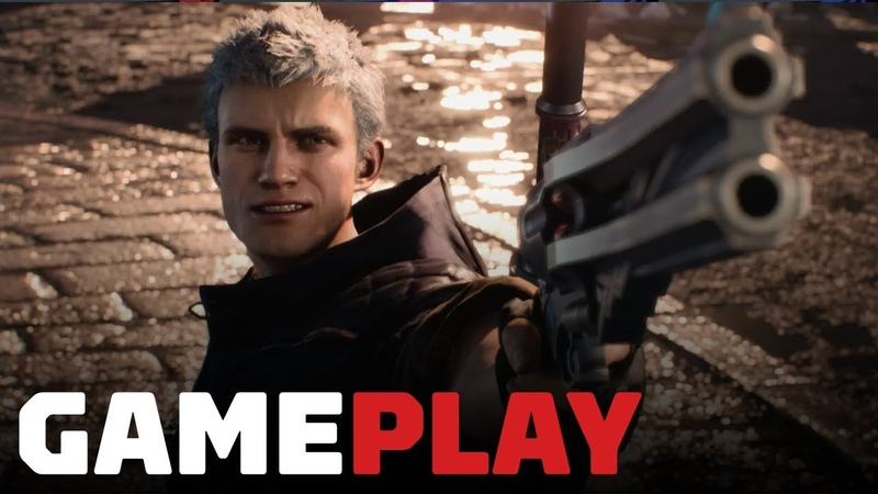 15 Minutes of Devil May Cry 5 Gameplay on Xbox One X - Gamescom 2018