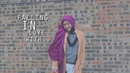 FALLING IN LOVE WITH YOU SHILA AMZAH LYRICS VIDEO
