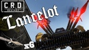 Crossout: [ spear x6 harvester ] LANCELOT [ver. 0.9.130]