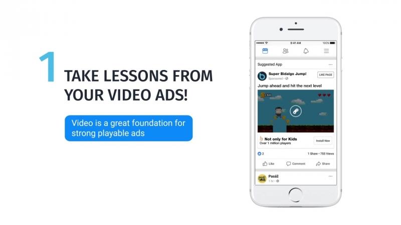 Наглядно: как работает PlayableAds в Facebook