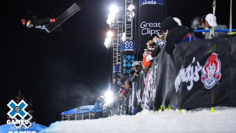 Scotty James wins Men's Snowboard SuperPipe gold X Games Aspen 2019