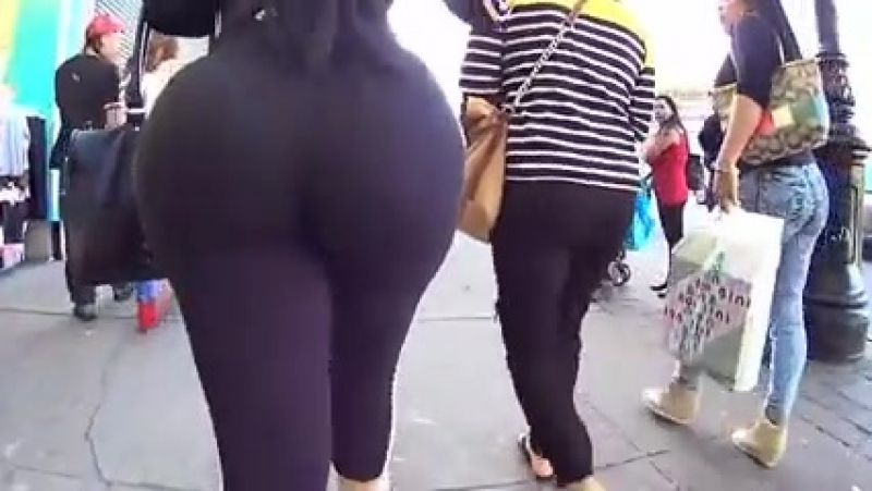 This Mom Has a Huge Ass Adidas Booty in Street HD Porn.mp4