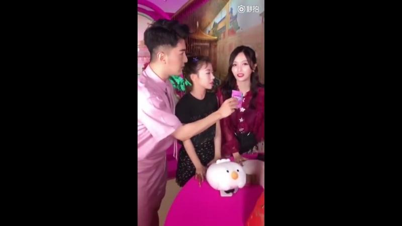 [Live] 180723 Rocket Girls for Meitu @ Xuanyi Meiqi