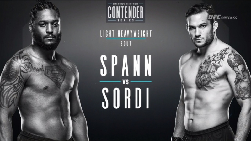 Dana White's Tuesday Night Contender Series S2E2: Ryan Spann vs Emiliano Sordi