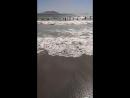 Шторм 🌊🌊🌊 усиливается второй день Затопило пол пляжа🏖️