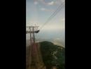 спуск с горы Тахталы