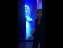 Алсу за кулисами концерта Ко Дню Учителя, 05.10.2018
