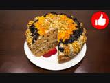 Торт пиковая дама в мультиварке, простой рецепт торта. Мультиварка и простые рецепты, выпечка
