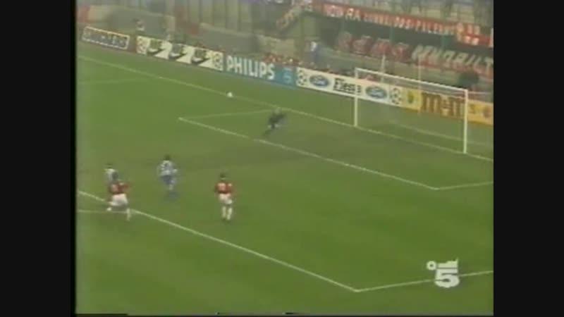 25.11.1992 Лига чемпионов Групповой турнир 1 тур Милан (Италия) - Гётеборг (Швеция) 4:0