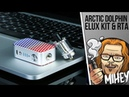 Arctic Dolphin ELUX Starter Kit 1300mAh. Многогранно, но есть но.🎷🎻🎹🎸