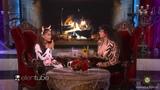 Ариана Гранде на шоу Эллен на Хэллоуин (перевод на русский byBitchy)