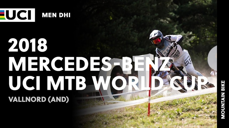 2018 Mercedes-Benz UCI Mountain Bike World Cup - Vallnord (AND) / Men DHI