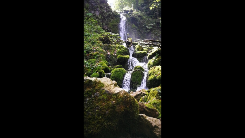 Маленький Мохнатый водопад