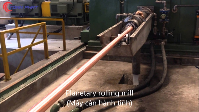 Toan Phat Viet Nam new copper tube production line