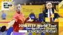 German Open 2016 Highlights: ZHANG Jike vs GIONIS Panagiotis (R32)