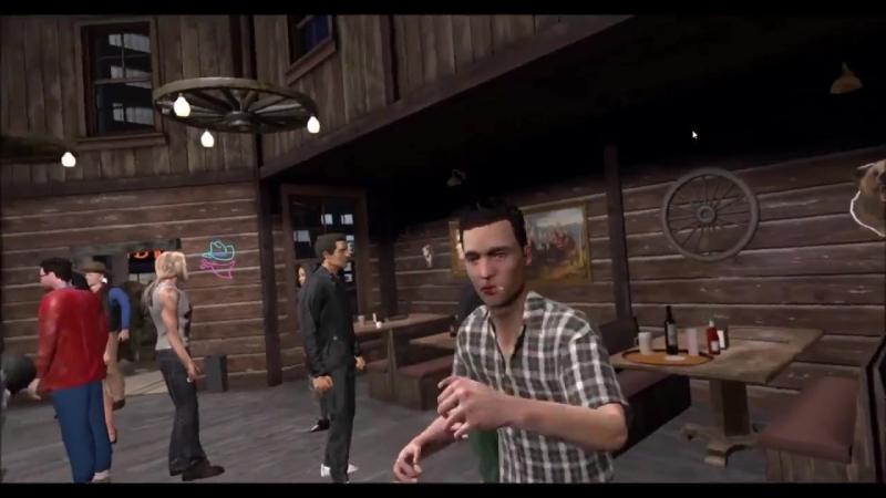 Пьяная драка в баре - Drunkn Bar Fight (Мультиплеер)