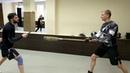Нож Карачун Тесты в клубе спортивного ножевого боя Patriots 10 Тест Собачка