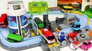 Titipo Tayo's Station Playset~ Bus Train~ Let's all run together PinkyPopTOY