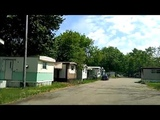 TRAILER PARK OFF 8 MILE RD NEAR DETROIT WHERE EMINEM LIVED