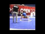 Рычаг локтя за 10 секунд в исполнении Ерназа Мусабека. Asia Open 2018.