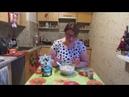 Салат с рисом ветчиной грибами и соленым огурцом Нежный