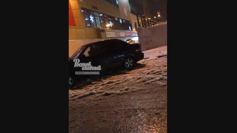 Автопопрошайка на Окее на Западном 3.1.2019 Ростов-на-Дону Главный