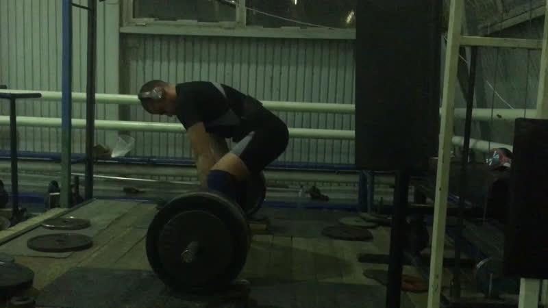 Тяга 190kg 3x2(плинт)30.01.2019