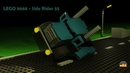 Сборка и возможности LEGO Power Racers 8668 Side Rider 55 made in 3ds max