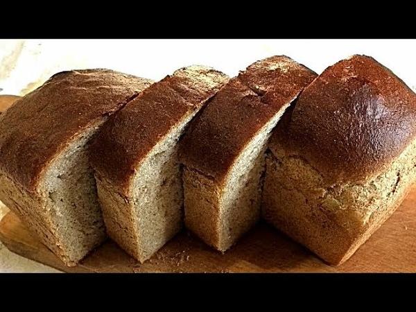 ПШЕНИЧНО - РЖАНОЙ ХЛЕБ. Вкусно и полезноWHEAT - Rye bread.