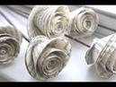 Cara membuat bunga mawar dari kertas mudah dan gampang ide kreatif