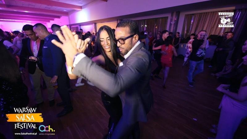 Maykel Fonts Sylvia Chapelli - Salsa Social Dancing @ WARSAW SALSA FESTIVAL 2018