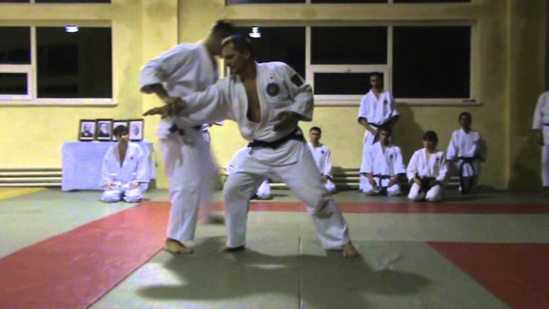 Мотоха Йошин рю Дзю Дзюцу. нукі учі - уширо кіме. (Jiu Jitsu seminar)