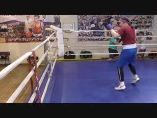 Школа бокса Фролова - групповая наработка