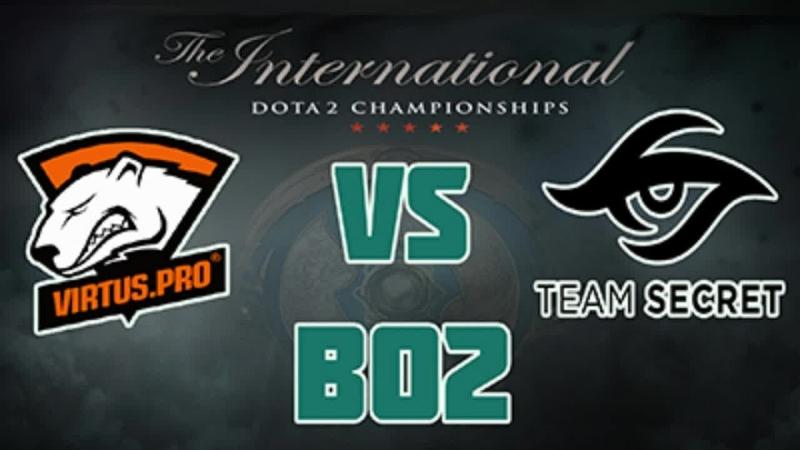 [Ru] Virtus. Pro vs Team Secret | Dota 2 the international 2018