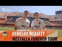 LOS GEMELOS DE HARRY POTTER VISITAN EL MESTALLA FOREVER TOUR