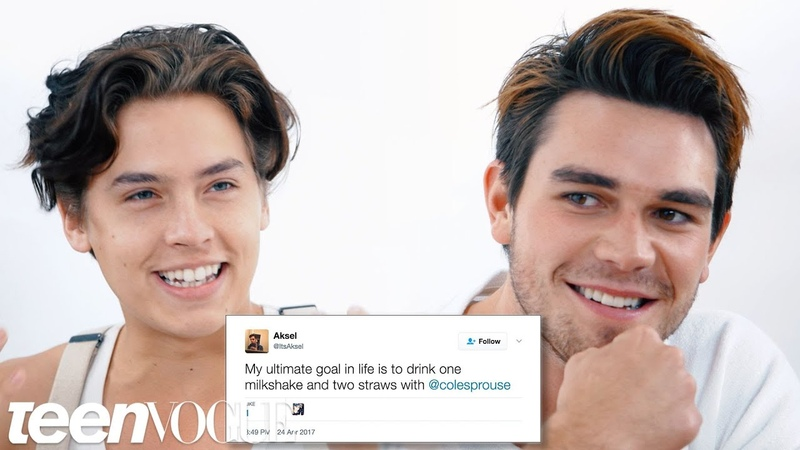 Riverdales Cole Sprouse KJ Apa Compete in a Compliment Battle | Teen Vogue