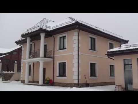 СФТК Мокрый фасад дом утеплён пенопластом 4 года назад короед и камешковая декоративка