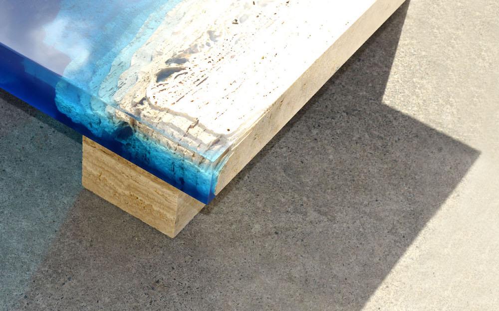 Дыхание океана в интерьере: оригинальные журнальные столики от дизайнера Александра Шапелина.