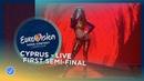 Eleni Foureira Fuego Cyprus LIVE First Semi Final Eurovision 2018