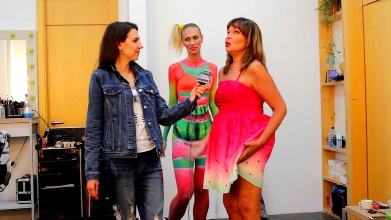 Showwomens - Ирина Абызова, школа визажа (бодиарт, макияж), топ стилист, ТВ Останскино, арбуз