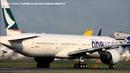 Cathay Pacific(ワンワールド塗装) Boeing 777-367/ER Take-off NARITA RWY16R!!成田空港 さくらの山公園!!