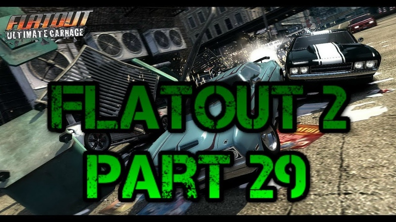 FlatOut 2 (PC) Walkthrough Part 29 Special Street City Cup [No Commentary] (720 HD)